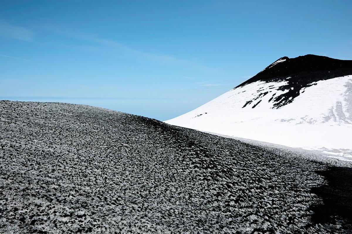 January- Mount Etna