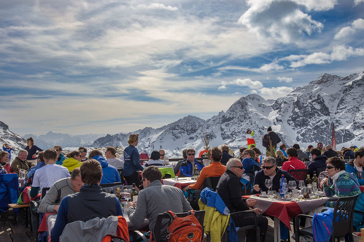 Apres ski- Skiing in the Aosta Valley