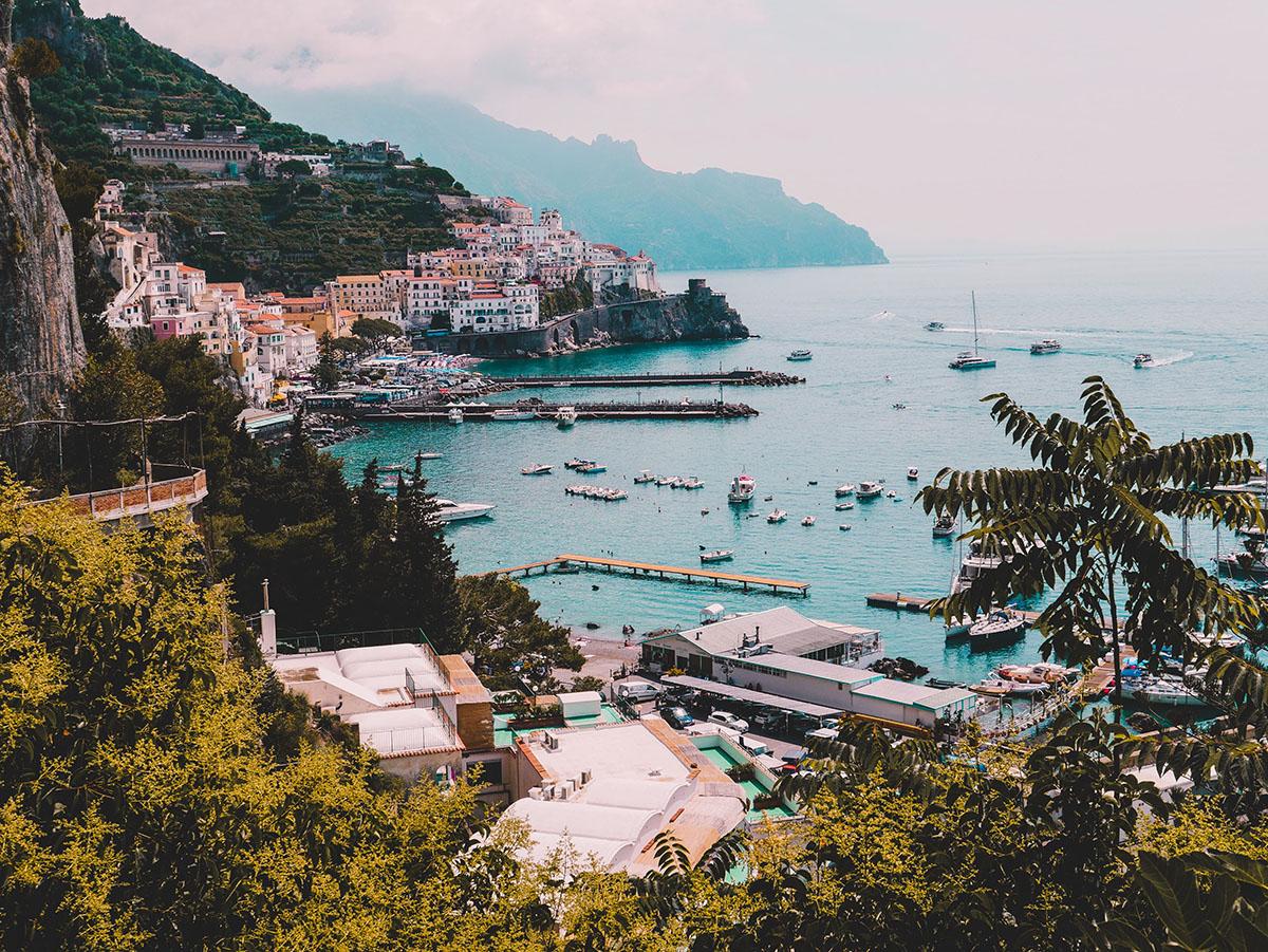 The Italian Riviera, The Amalfi Coast